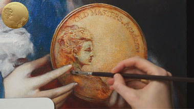 Allegory of Painting - How to Paint Metal Objects in Oil