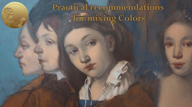 Basic Rules of Mixing Oil Paints