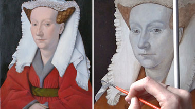 How to Paint Using the Flemish Method - Brown Underpainting in Flemish Painting Technique