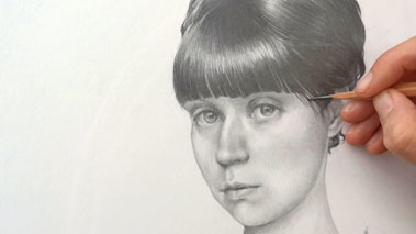 Portrait Drawing in Flemish Style - How to Add Final Touches to a Portrait
