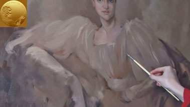 How to Paint a Portrait in the Direct Method - How to Paint Loosely in Oil