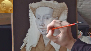 How to Paint Using the Flemish Method - How To Paint a Dead Layer Using the Flemish Method of Oil Painting