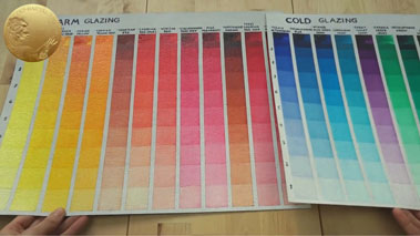 Warm and Cool Colors - Transparent and Opaque Paints for Glazing