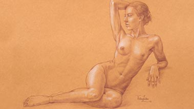Life Drawing - How to draw figures and portraits from life