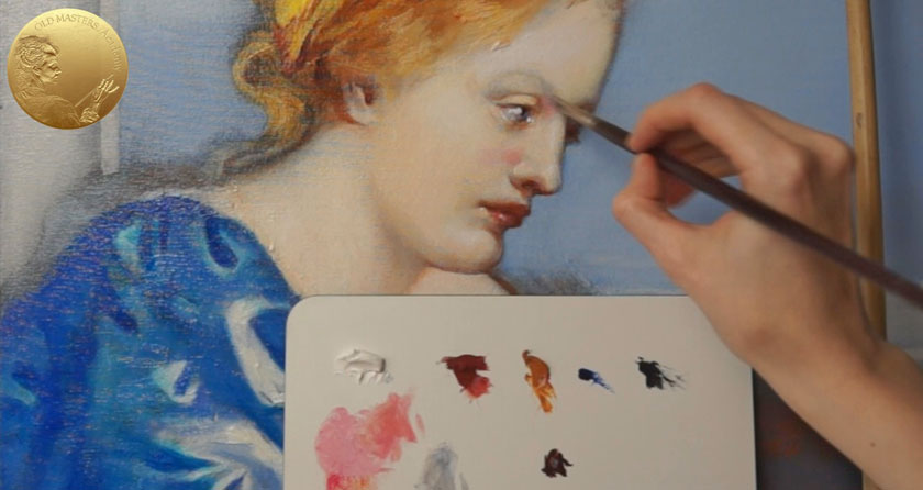 Allegory of Painting - How to Oil Paint a Female Portrait in Profile