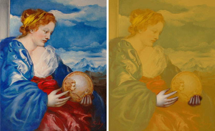 Allegory of Painting - How to Paint Hands