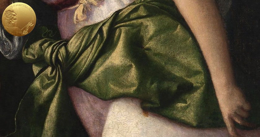 Colored Draperies in Titian's Paintings