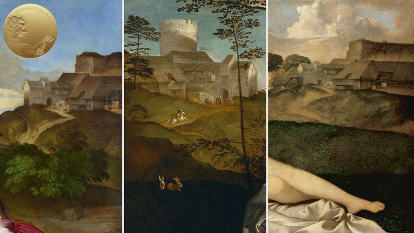 Generalised Backgrounds, Landscapes and Architecture Settings in Titian's Artworks