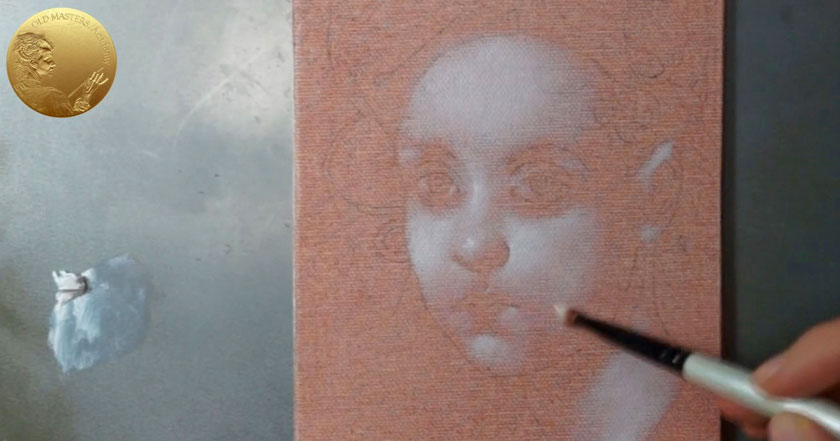 Grisaille Underpainting