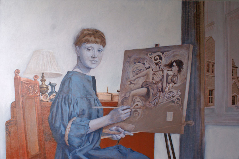Figure with a still-life in Oils - Highlights in Underpainting Grisaille