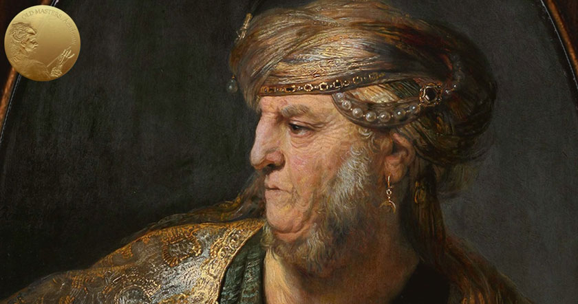 How Rembrandt Painted Different Textures and Richly Decorated Costumes