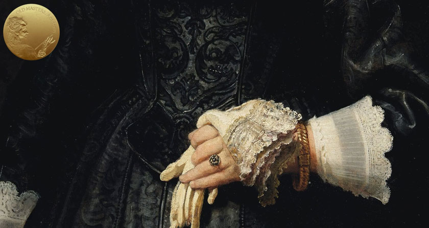 How Rembrandt Used Bone Black and Charcoal in his Paintings