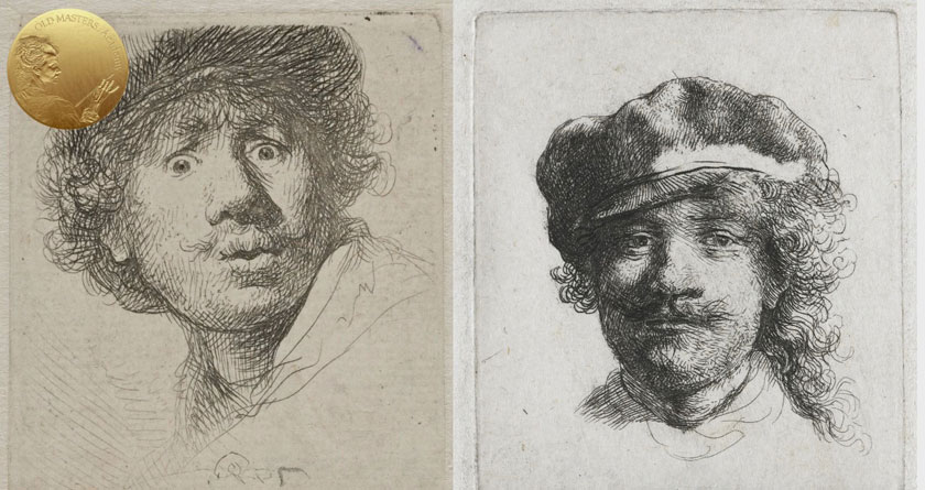 How Rembrandt painted Self-Portraits