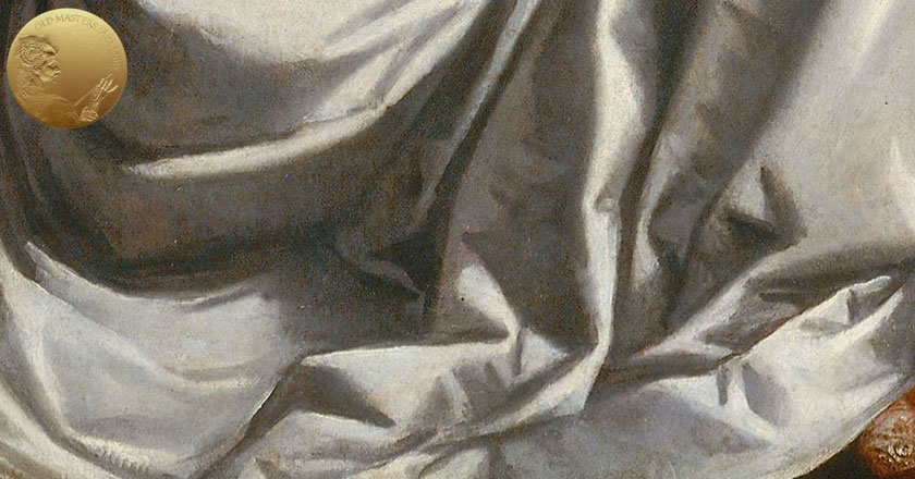 How Titian Depicted White, Black and Grey Draperies