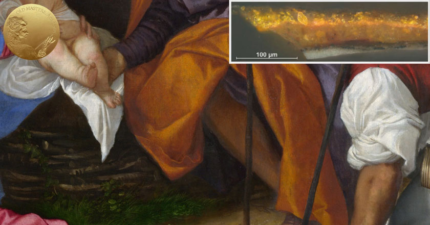 How Titian Depicted Yellow and Orange Draperies