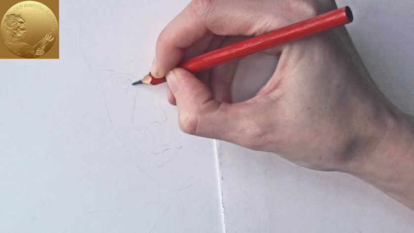 Portrait Drawing in Flemish Style - How to Draw Facial Features