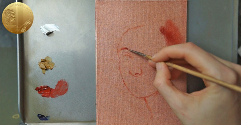 How to Make an Underpainting in Colors