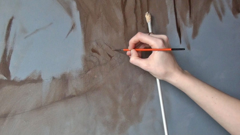 Figural Painting in Oils - How to Paint Hands in Oil