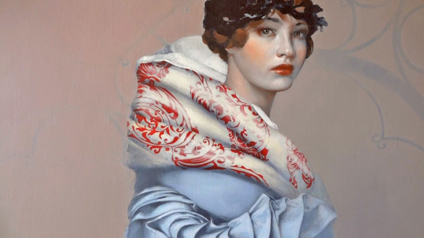 How to Paint a Girl Portrait - How to Paint Highlights in Portraits