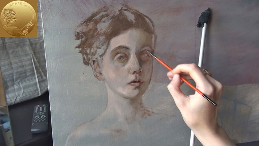 How to Paint a Portrait - How to Paint Skin Tones in Oils