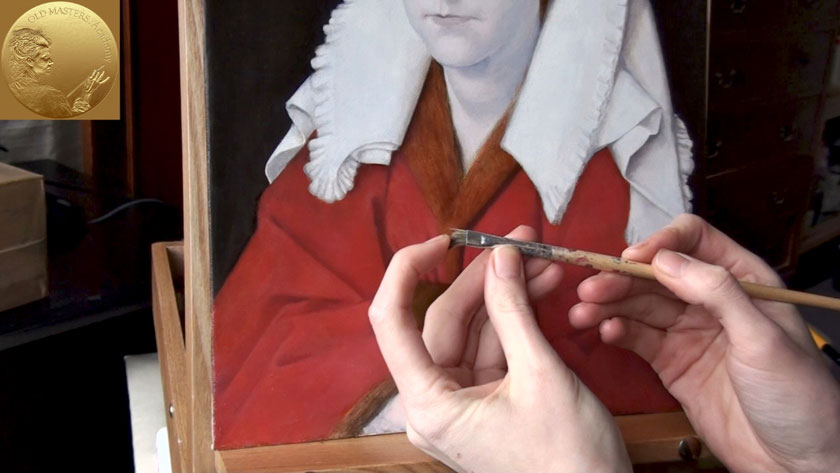 How to Paint Using the Flemish Method - How to Paint Various Types of Fabric in Oil
