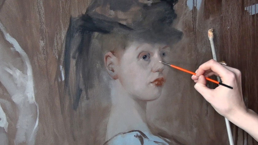 Figural Painting in Oils - How to Paint a Portrait in Oil