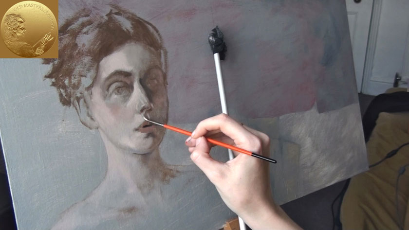 How to Paint a Portrait - How to Paint a Self-Portrait