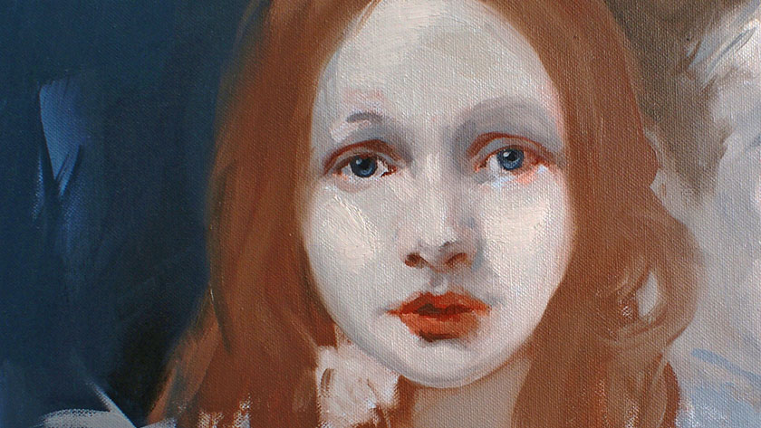 How to Paint Simple Figures in Oil - How to Paint in Oil Facial Expressions with Emphasis on the Eyes