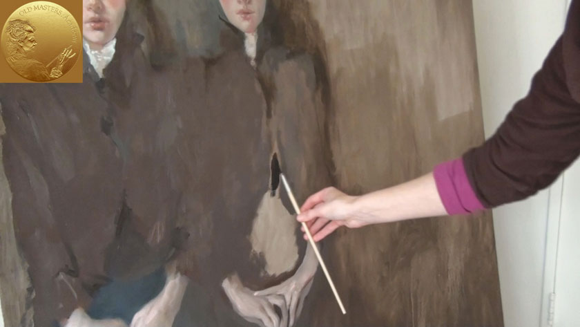 How to Paint Figures in Oil - Impressionistic Approach in painting Clothes