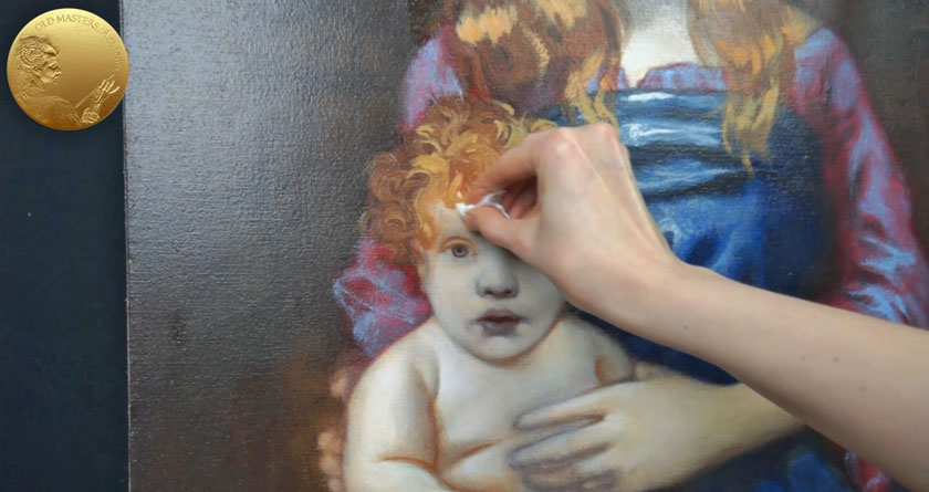 Madonna and Child - How to Paint a Child in Oil