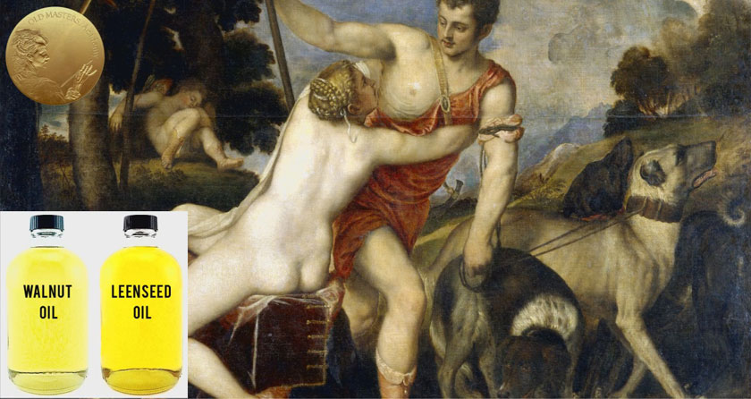 Mediums and Binders Titian Preferred to Use