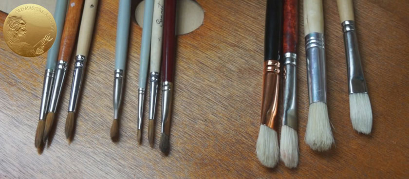 Oil Painting Brushes for Beginners