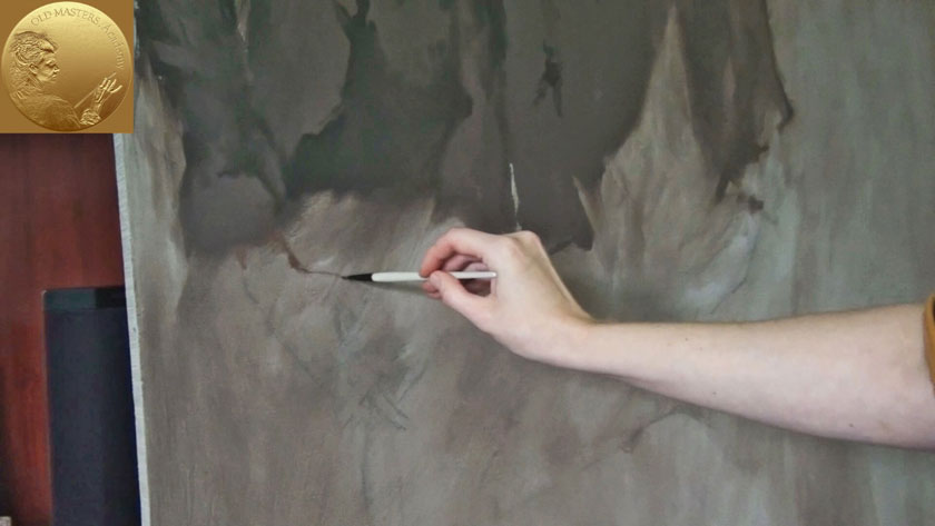 How to Paint Figures in Oil - Painting Hands in Oil - Gestures of the Hands