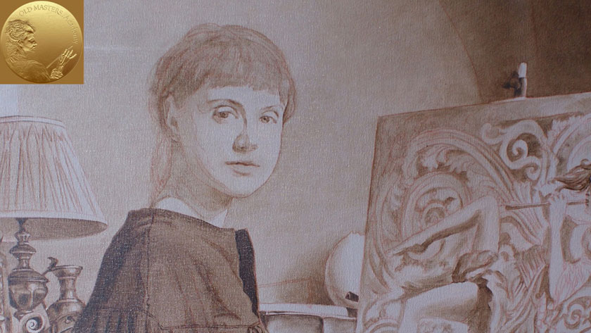 Figure with a still-life in Oils - Painting a Portrait in Grisaille