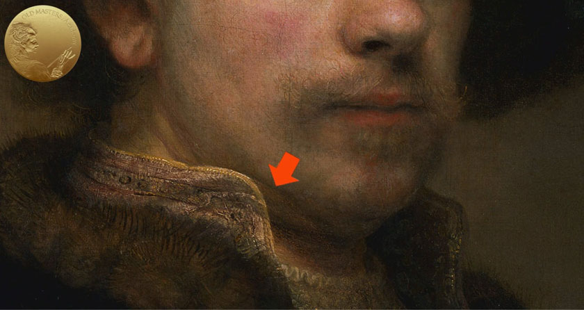 Pentimenti in Rembrandt's paintings