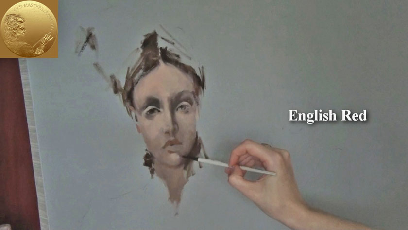 How to Paint Figures in Oil - Portrait Painting in Oil Step by Step