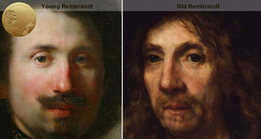 Rembrandt's Painting Styles