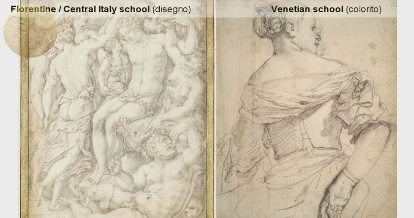 Underdrawing in Titian's Paintings