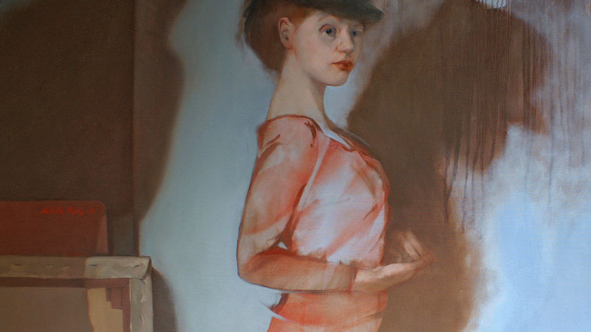 Figural Painting in Oils - Underpainting with Brown Oil Paint