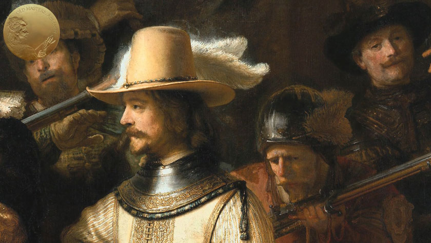 'Working-up' of Rembrandt's Oil Painting Method
