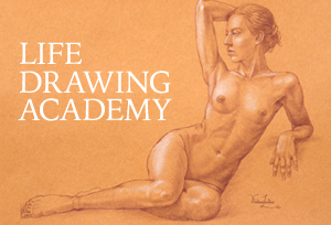 Life Drawing Academy - How to draw figures and portraits