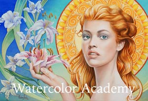 Watercolor Academy - How to paint in watercolor