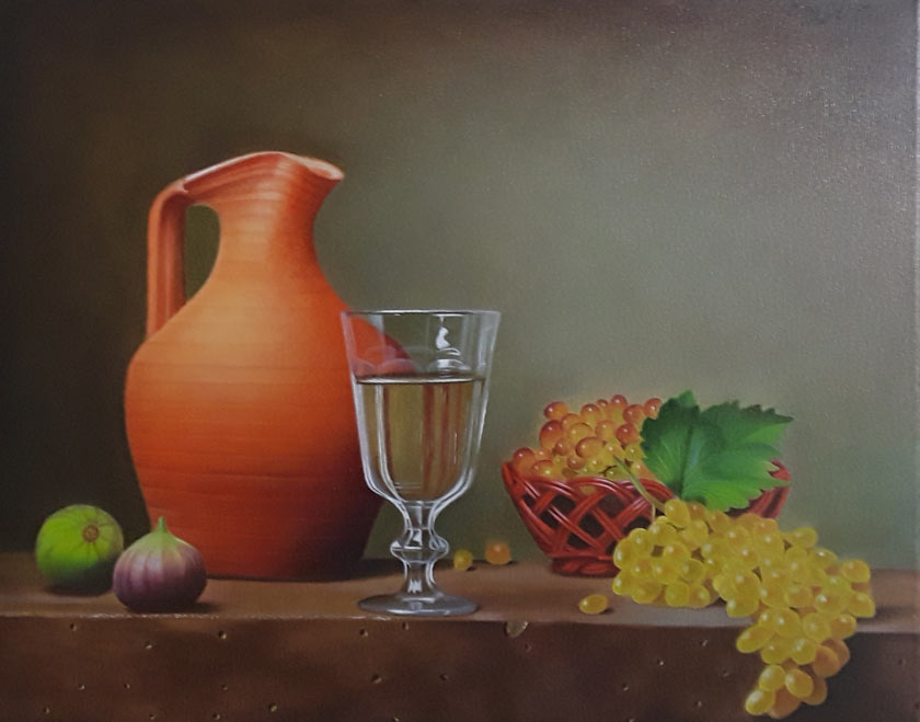 I would like to be able to better realize my ideas Painting by Erick Carrazco