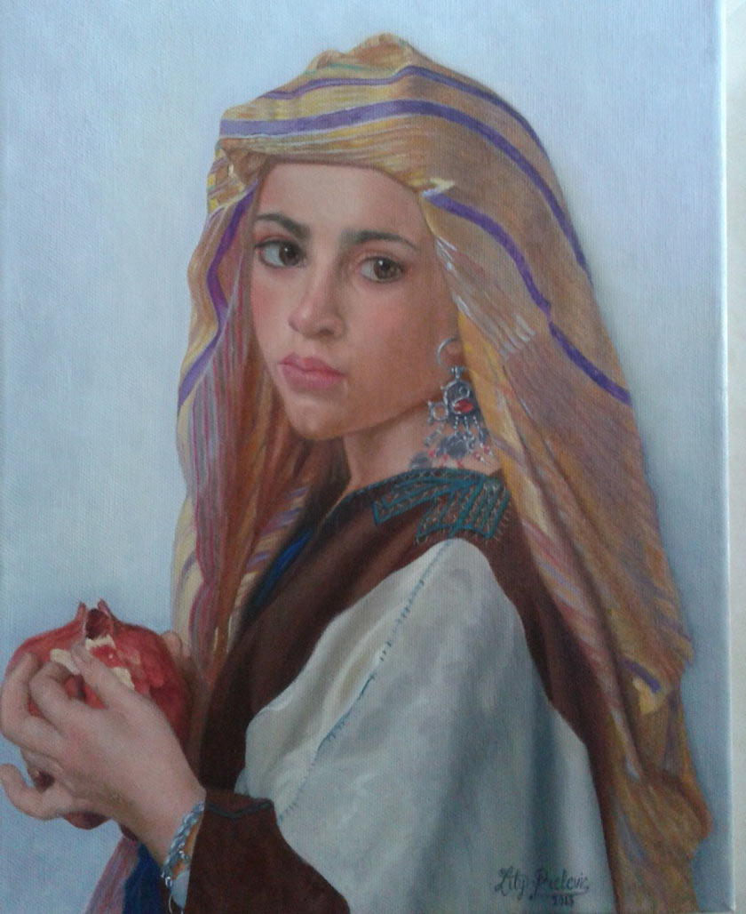 My goal is to learn to paint like Rembrandt Velasquez Paintings by Ljiljana Prelevic artist