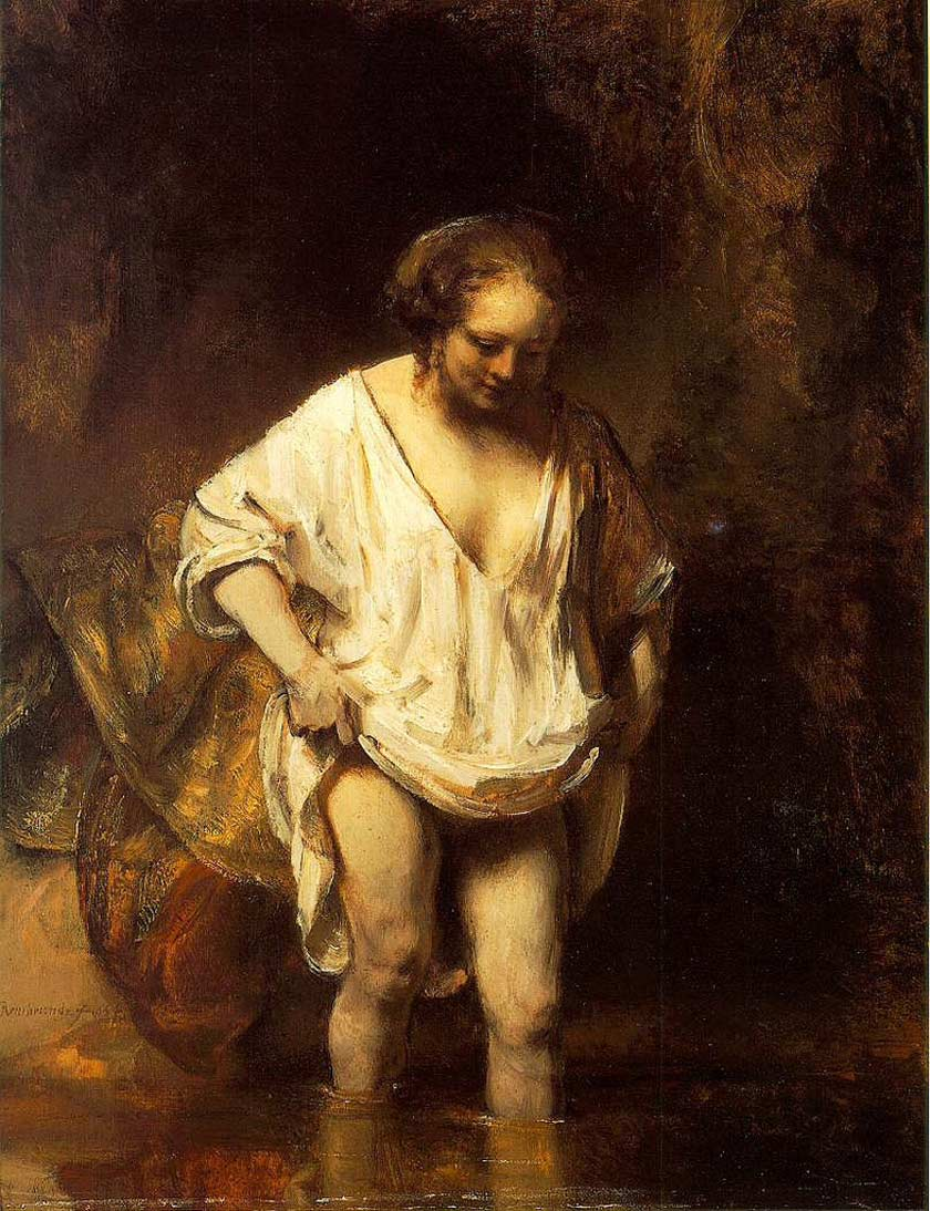How to paint like Rembrandt_Hendrickje Rembrandt mistress
