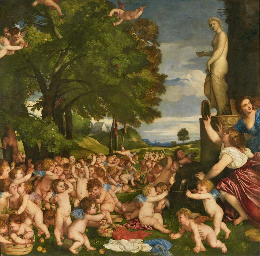 How to paint like Titian the old masters