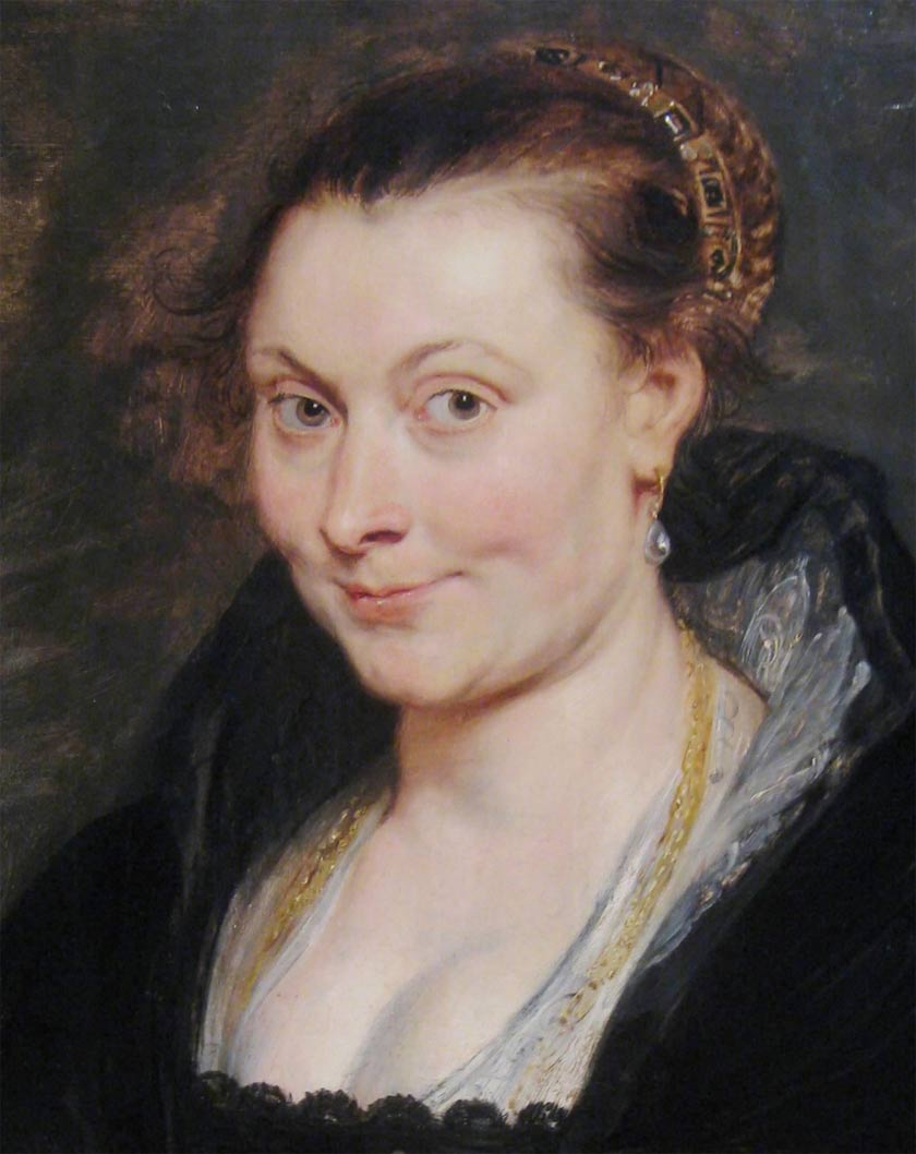 Peter Paul Rubens Isabella Brant [1621-25] Cleveland MA