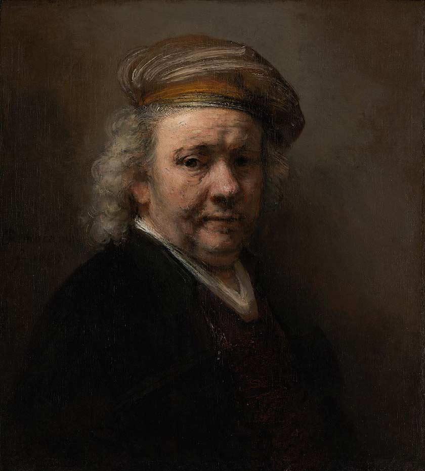 Rembrant-Self-Portrait-1669