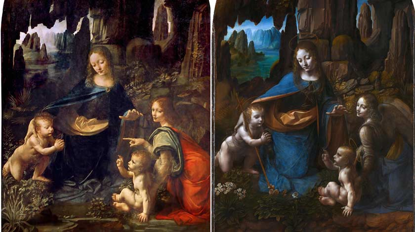 how to paint like old masters Leonardo Da Vinci failure rejection