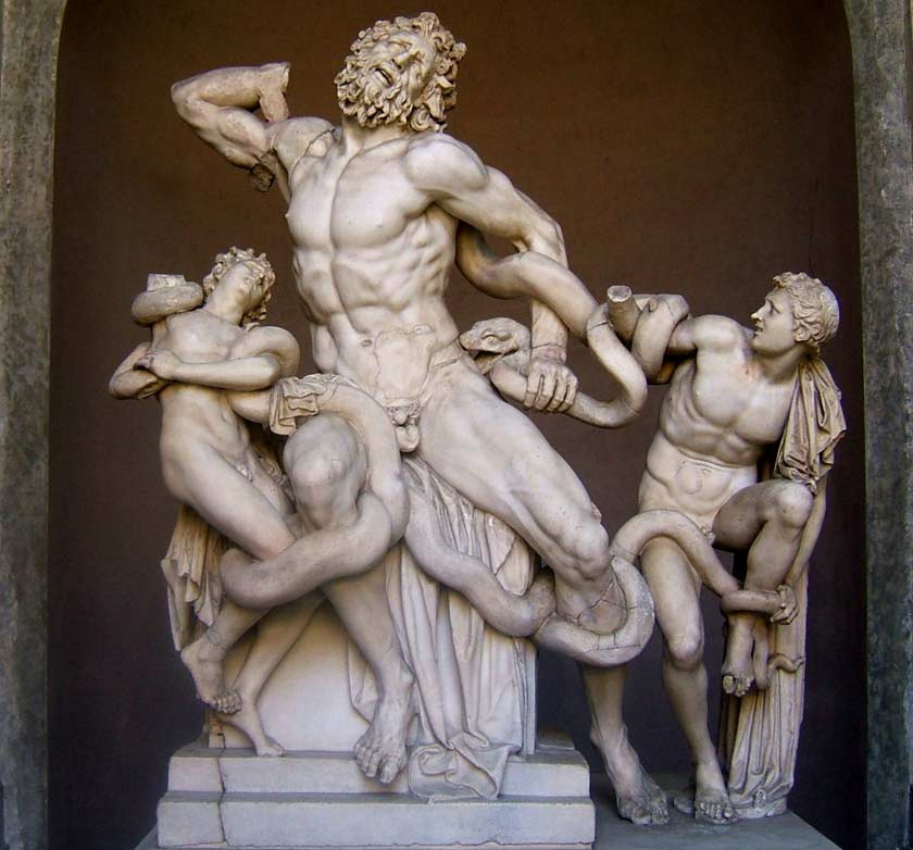 faked-sculpture-made-by-michelangelo-Laocoon